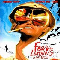 """Обложка саундтрека к фильму """"Страх и ненависть в Лас-Вегасе"""" / Fear and Loathing in Las Vegas (1998)"""