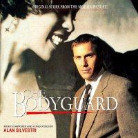 """Обложка саундтрека к фильму """"Телохранитель"""" / The Bodyguard: Score (1992)"""