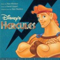 """Обложка саундтрека к мультфильму """"Геркулес"""" / Hercules (1997)"""