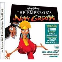 """Обложка саундтрека к мультфильму """"Похождения императора"""" / The Emperor's New Groove (2000)"""