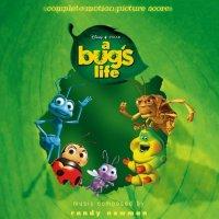 """Обложка саундтрека к мультфильму """"Приключения Флика"""" / A Bug's Life (1998)"""