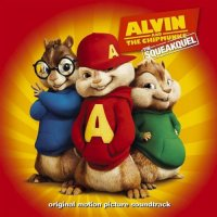 """Обложка саундтрека к мультфильму """"Элвин и бурундуки 2"""" / Alvin and the Chipmunks: The Squeakquel (2009)"""