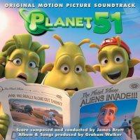 """Обложка саундтрека к мультфильму """"Планета 51"""" / Planet 51 (2009)"""