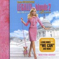"""Обложка саундтрека к фильму """"Блондинка в законе 2: Красное, белое и блондинка"""" / Legally Blonde 2: Red, White & Blonde (2003)"""