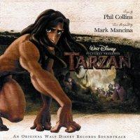 "Обложка саундтрека к мультфильму ""Тарзан"" / Tarzan (1999)"