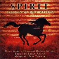 """Обложка саундтрека к мультфильму """"Спирит: Душа прерий"""" / Spirit: Stallion of the Cimarron (2002)"""