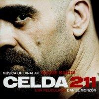 """Обложка саундтрека к фильму """"Камера 211"""" / Celda 211 (2009)"""