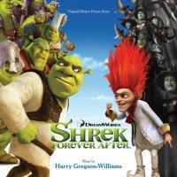 """Обложка саундтрека к мультфильму """"Шрэк навсегда"""" / Shrek Forever After: Score (2010)"""