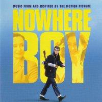 """Обложка саундтрека к фильму """"Стать Джоном Ленноном"""" / Nowhere Boy (2009)"""