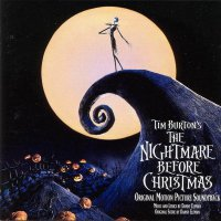 "Обложка саундтрека к мультфильму ""Кошмар перед Рождеством"" / The Nightmare Before Christmas (1993)"