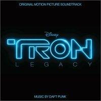 """Обложка саундтрека к фильму """"Трон: Наследие"""" / TRON: Legacy (2010)"""