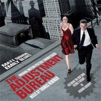"""Обложка саундтрека к фильму """"Меняющие реальность"""" / The Adjustment Bureau (2011)"""