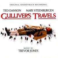 """Обложка саундтрека к фильму """"Путешествия Гулливера"""" / Gulliver's Travels (1996)"""