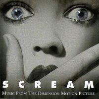 """Обложка саундтрека к фильму """"Крик"""" / Scream (1996)"""