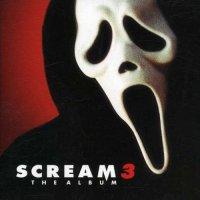 """Обложка саундтрека к фильму """"Крик 3"""" / Scream 3 (2000)"""