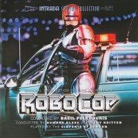 """Обложка саундтрека к фильму """"Робокоп"""" / RoboCop (1987)"""