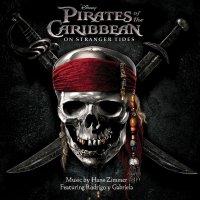 """Обложка саундтрека к фильму """"Пираты Карибского моря: На странных берегах"""" / Pirates of the Caribbean: On Stranger Tides (2011)"""