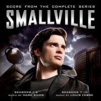 """Обложка саундтрека к фильму """"Тайны Смолвиля"""" / Smallville (2001)"""