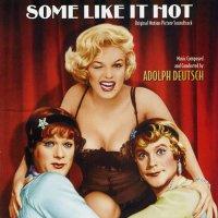 """Обложка саундтрека к фильму """"В джазе только девушки"""" / Some Like It Hot (1959)"""