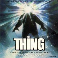 """Обложка саундтрека к фильму """"Нечто"""" / The Thing (1982)"""