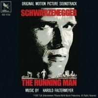 """Обложка саундтрека к фильму """"Бегущий человек"""" / The Running Man (1987)"""
