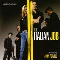 """Обложка саундтрека к фильму """"Ограбление по-итальянски"""" / The Italian Job (2003)"""