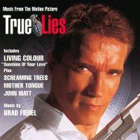 """Обложка саундтрека к фильму """"Правдивая ложь"""" / True Lies (1994)"""