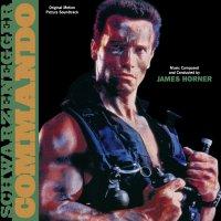 """Обложка саундтрека к фильму """"Коммандос"""" / Commando (1985)"""