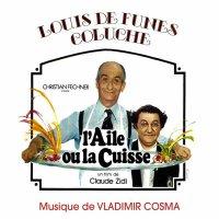"""Обложка саундтрека к фильму """"Крылышко или ножка"""" / L'aile ou la cuisse (1976)"""