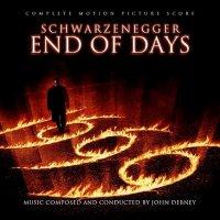 """Обложка саундтрека к фильму """"Конец света"""" / End of Days: Score (1999)"""