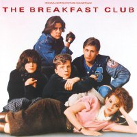 """Обложка саундтрека к фильму """"Клуб «Завтрак»"""" / The Breakfast Club (1985)"""