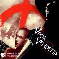 "Обложка саундтрека к фильму ""«V» значит Вендетта"" / V for Vendetta (2006)"