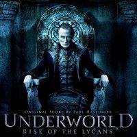"""Обложка саундтрека к фильму """"Другой мир: Восстание ликанов"""" / Underworld: Rise of the Lycans: Score (2009)"""