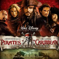 "Обложка саундтрека к фильму ""Пираты Карибского моря: На краю Света"" / Pirates of the Caribbean: At World's End: Complete Score (2007)"