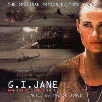 "Обложка саундтрека к фильму ""Солдат Джейн"" / G.I. Jane: Score (1997)"