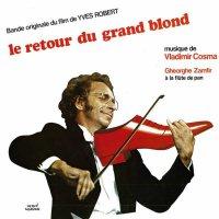 """Обложка саундтрека к фильму """"Возвращение высокого блондина"""" / Le retour du grand blond (1974)"""