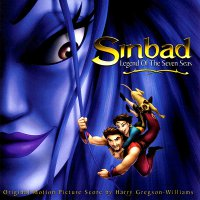 "Обложка саундтрека к мультфильму ""Синдбад: Легенда семи морей"" / Sinbad: Legend of the Seven Seas (2003)"