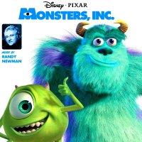 """Обложка саундтрека к мультфильму """"Корпорация монстров"""" / Monsters, Inc. (2001)"""