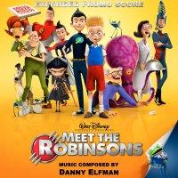 """Обложка саундтрека к мультфильму """"В гости к Робинсонам"""" / Meet the Robinsons: Score (2007)"""