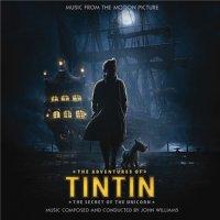 """Обложка саундтрека к мультфильму """"Приключения Тинтина: Тайна единорога 3D"""" / The Adventures of Tintin (2011)"""