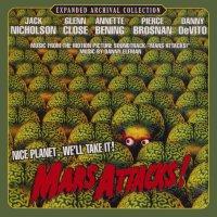 "Обложка саундтрека к фильму ""Марс атакует!"" / Mars Attacks! (1996)"