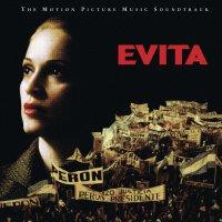 """Обложка саундтрека к фильму """"Эвита"""" / Evita (1996)"""