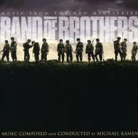 """Обложка саундтрека к сериалу """"Братья по оружию"""" / Band of Brothers (2001)"""