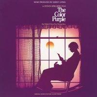 """Обложка саундтрека к фильму """"Цветы лиловые полей"""" / The Color Purple (1985)"""