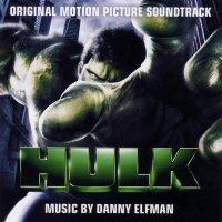 """Обложка саундтрека к фильму """"Халк"""" / Hulk (2003)"""