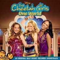 """Обложка саундтрека к фильму """"Чита Гёрлз в Индии"""" / The Cheetah Girls: One World (2008)"""