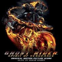 "Обложка саундтрека к фильму ""Призрачный гонщик 2"" / Ghost Rider: Spirit of Vengeance (2011)"