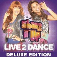 """Обложка саундтрека к сериалу """"Танцевальная лихорадка"""" / Shake It Up: Live 2 Dance (2010)"""