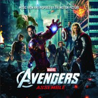 """Обложка саундтрека к фильму """"Мстители"""" / Avengers Assemble (2012)"""