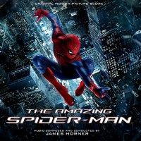 """Обложка саундтрека к фильму """"Новый Человек-паук"""" / The Amazing Spider-Man (2012)"""